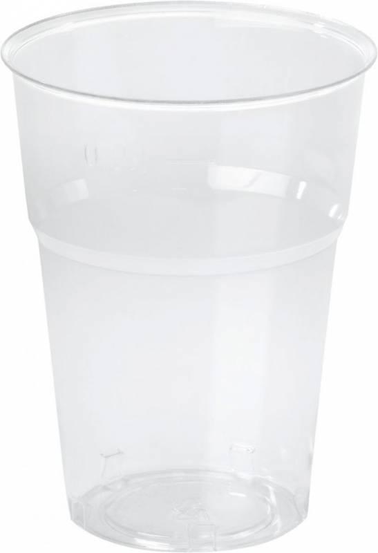 Image of   Plastglas økonomi 25cl 0,2l 50stk/ps