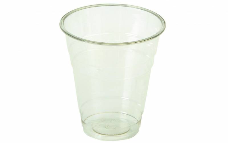 Image of   Plastikglas 20cl PLA klar Ø76mm 90stk/ps