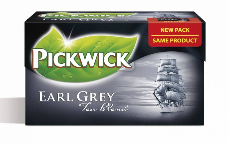 Image of   Te Pickwick Earl Grey 20breve/pak