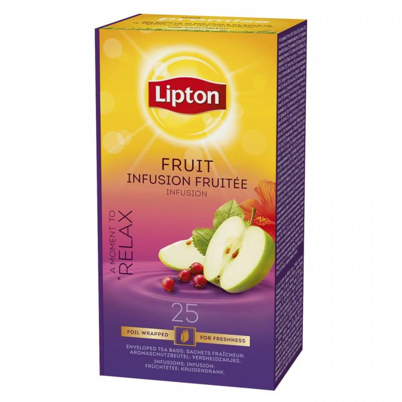 Image of   Te Lipton Fruit Infusion 25breve/pak