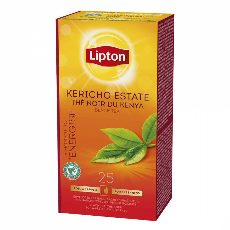 Image of   Te Lipton Kericho Estate 25breve/pak