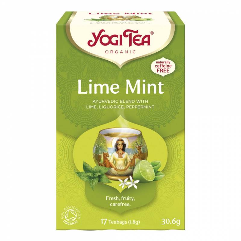 Image of   Te Yogi Lime Mint 17breve/pak