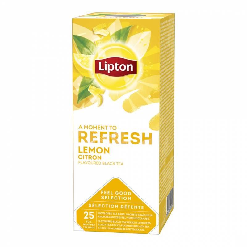 Image of   Te Lipton lemon 25breve/pak
