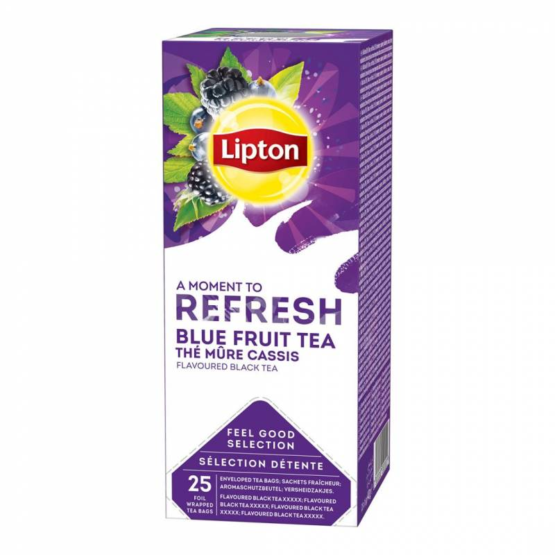 Image of   Te Lipton Blue Fruit 25breve/pak