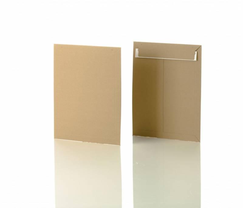 Image of   Konvolut kartonpose 6 t/A4+ 295x375mm brun 100stk/pak