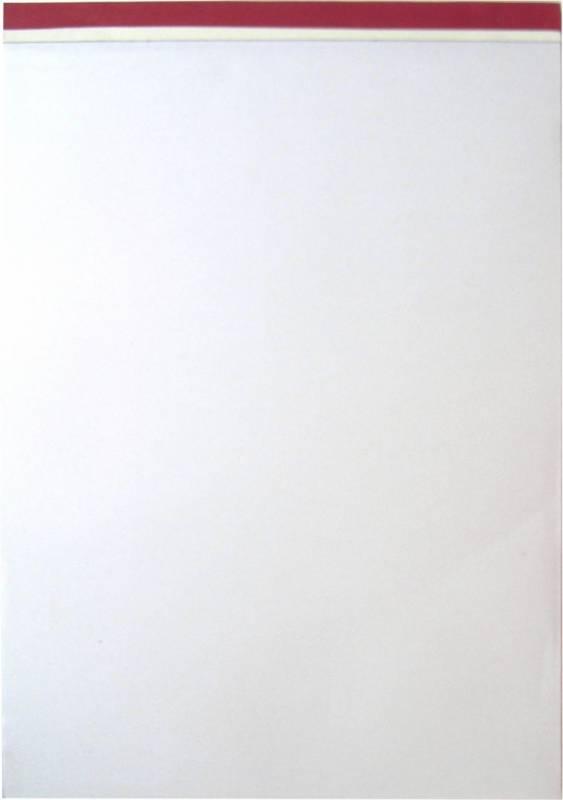 Billede af Standardblok A4 ulinieret 60g stub m/perforering u/huller