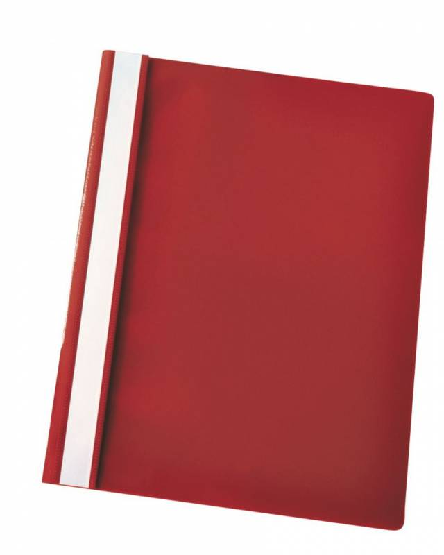 Image of   Tilbudsmappe Esselte A4 Centra u/lomme rød