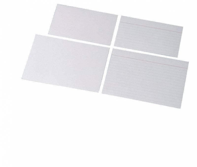Image of   Kartotekskort Esselte linieret 75x125mm 28020