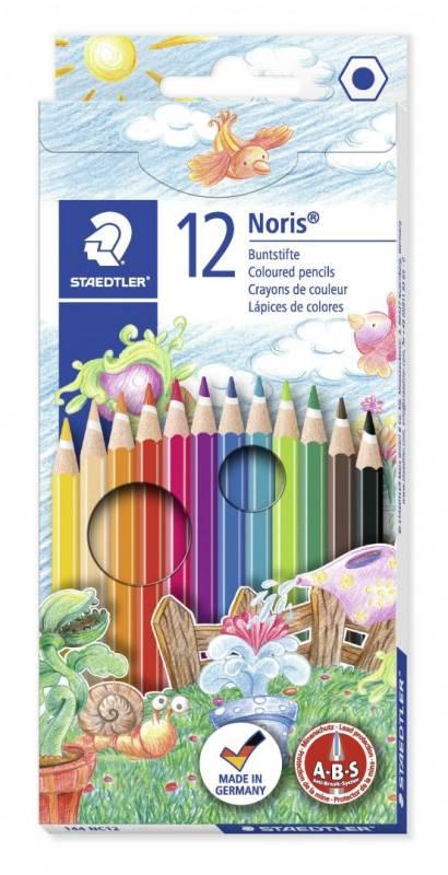Farveblyant Staedtler Noris Club ass. 12stk/sæt