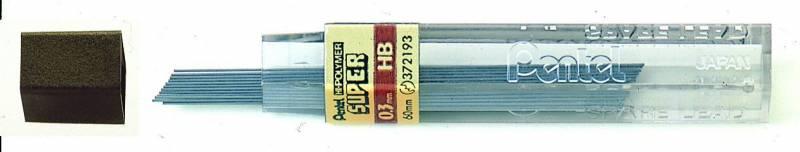 Billede af Miner Pentel 0,3mm HB 12miner/tb 12tb/pak