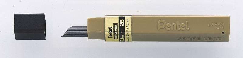Billede af Miner Pentel 0,5mm 2B 12miner/tb 12tb/pak