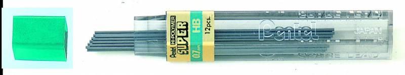 Billede af Miner Pentel 0,7mm HB 12miner/tb 12tb/pak