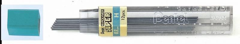 Image of   Miner Pentel 0,7mm H 12miner/tb 12tb/pak