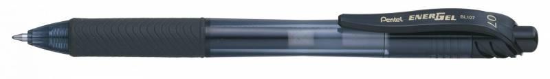 Image of   Rollerpen Pentel EnerGelX sort 0,7mm BL107