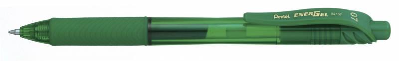 Rollerpen Pentel EnerGelX grøn 0,7mm BL107