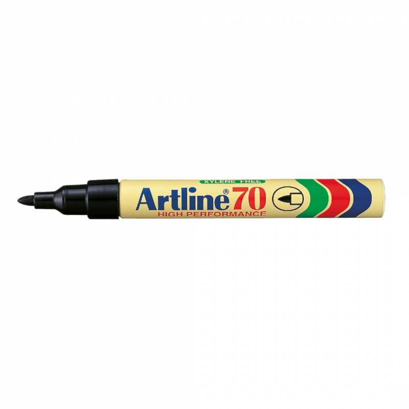 Marker Artline 70 permanent sort 1,5mm