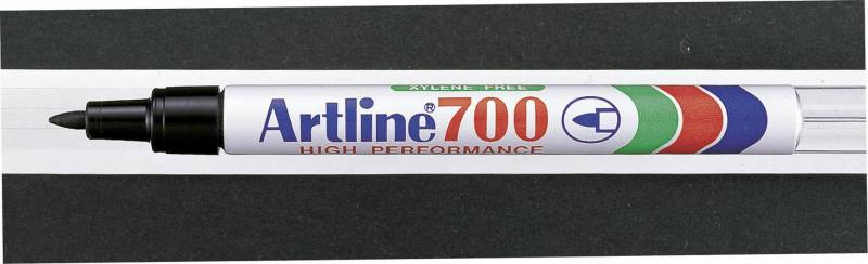 Image of   Marker Artline 700 permanent sort 0,7mm