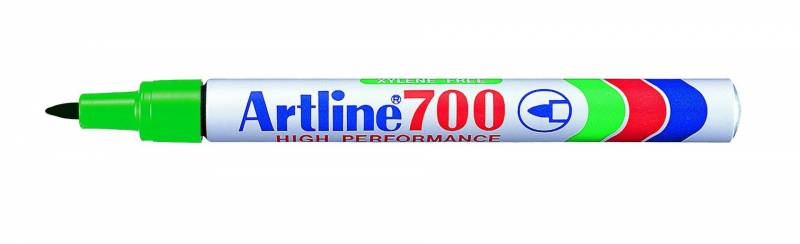 Image of   Marker Artline 700 permanent grøn 0,7mm