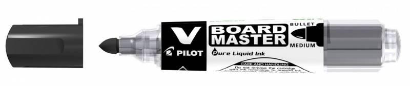 Whiteboardmarker Pilot sort rund spids 2,3mm