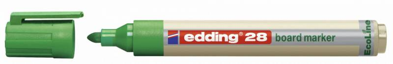 Image of   Whiteboardmarker edding 28 EcoLine grøn 1,5-3mm