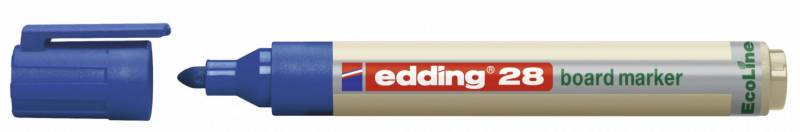 Image of   Whiteboardmarker edding 28 EcoLine blå 1,5-3mm