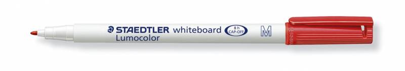 Image of   Whiteboardmarker Staedtler 301 rød Lumocolor 1,0mm