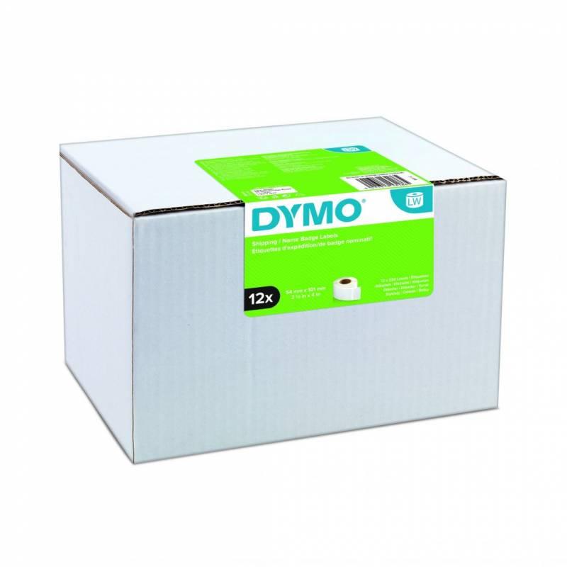 Shippinglabel DYMO hvid 54x101mm