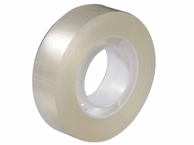 Image of   Tape PP klar 15mmx33m kerne Ø25mm
