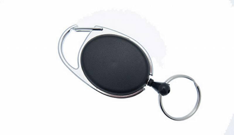 Image of   Yo-Yo nøglesnor NN sort m/krog og wire
