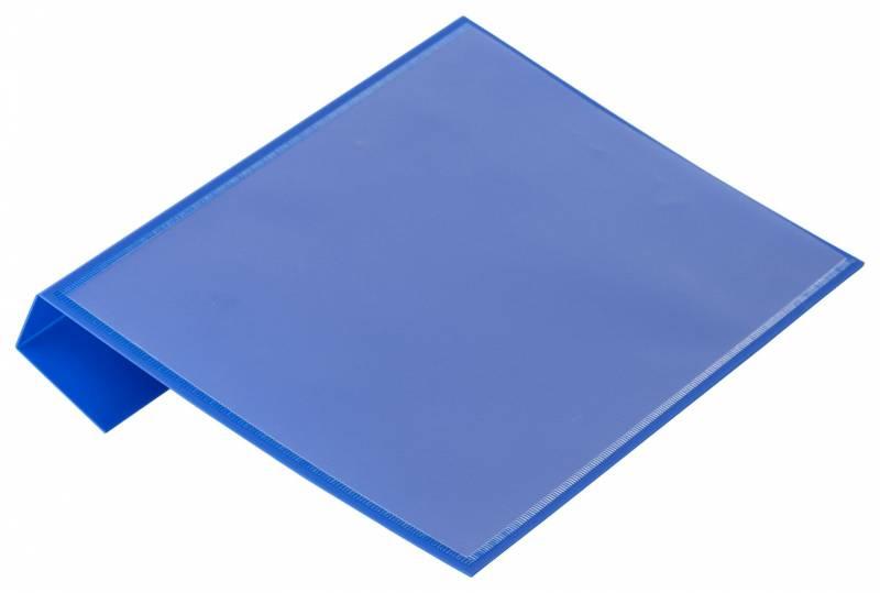 Pallelomme blå A5 til pallerammer