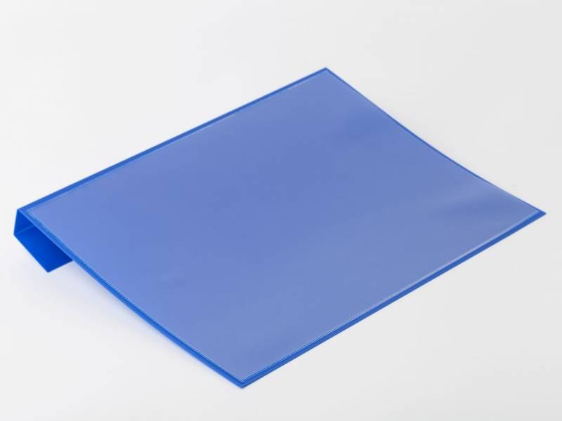 Pallelomme blå A4 til pallerammer