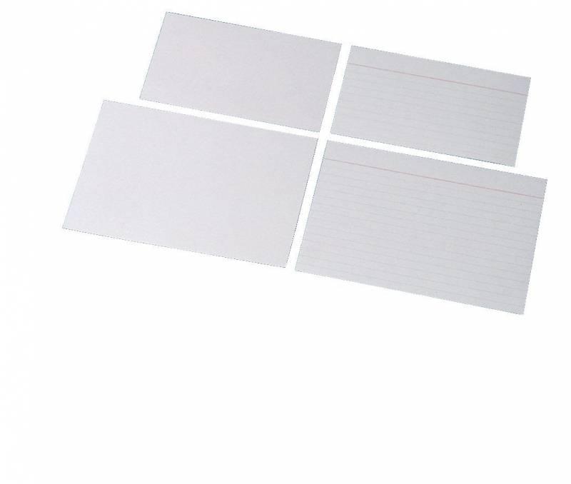 Billede af Kartotekskort Esselte linieret 75x125mm 28020