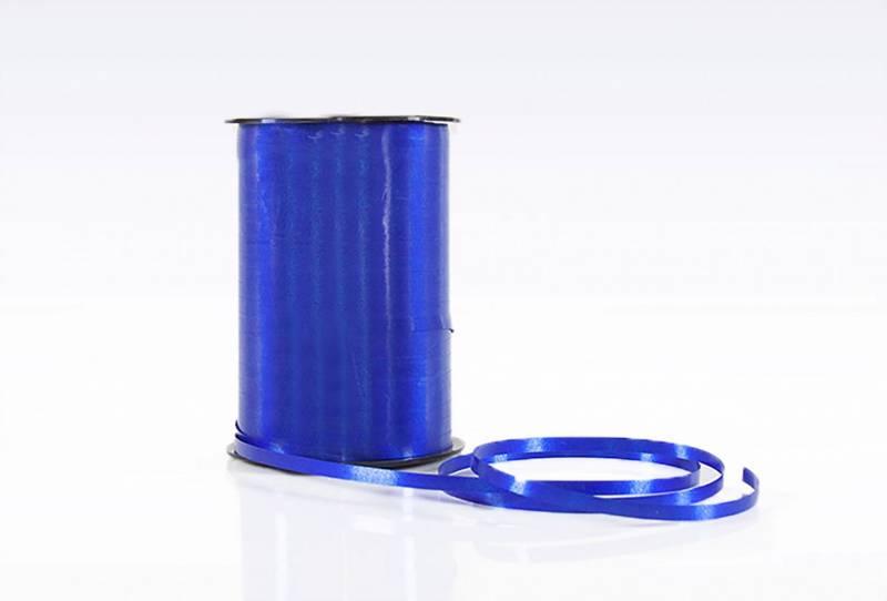Billede af Gavebånd glat mørk blå 10mmx250m nr. 78