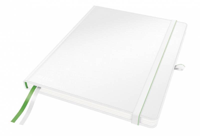 Billede af Notesblok Leitz Complete iPad linieret 80 perf. blade hvid
