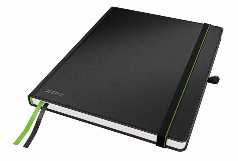 Billede af Notesblok Leitz Complete iPad linieret 80 perf. blade sort