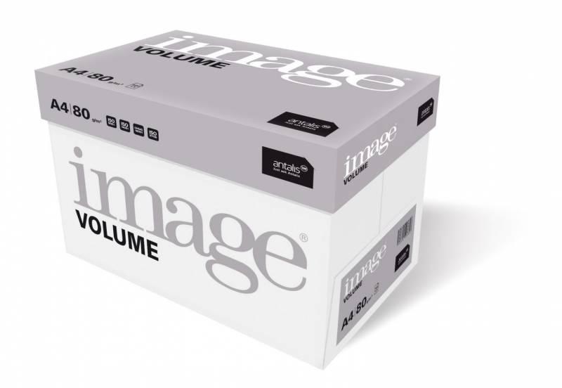 Image of   Kopipapir Image Volume 80g A4 m/4 huller 500ark/pak