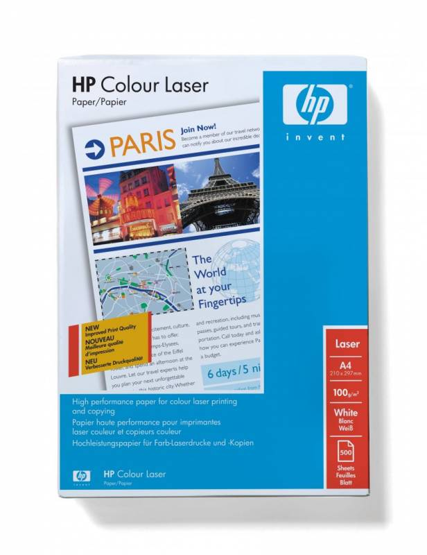 Image of   Kopipapir HP Professionel A4 Laser 120g Glossy 250ark/pak