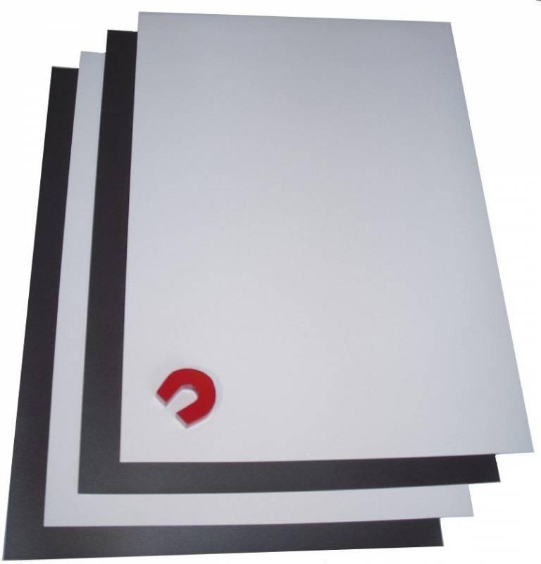 Magnetpapir A4 til inkjet hvid mat 10ark/pakke