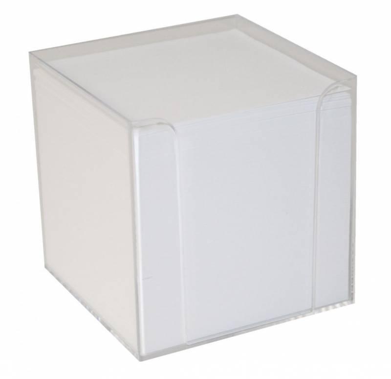 Image of   Kubus refill løse blade 1100ark/stk hvid 9x9x9 cm