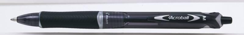 Image of   Kuglepen Pilot Acroball sort stregbredde 1,0mm medium