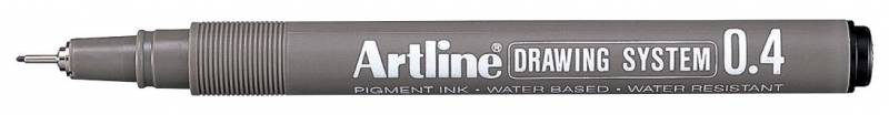 Image of   Drawingpen Artline EK234 0,4mm sort