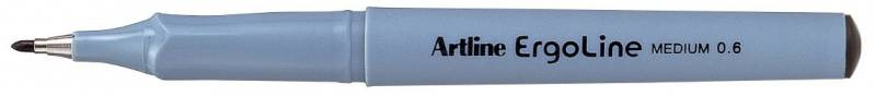 Image of   Fineliner Artline ERG3600 sort Ergoline 0,6mm