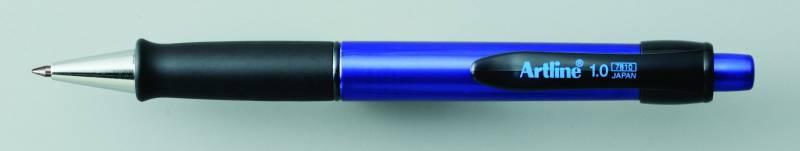 Billede af Kuglepen Artline EK7810 grøn krop/blå skriftfarve