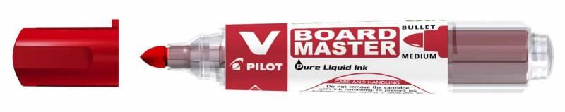 Whiteboardmarker Pilot rød rund spids 2,3mm