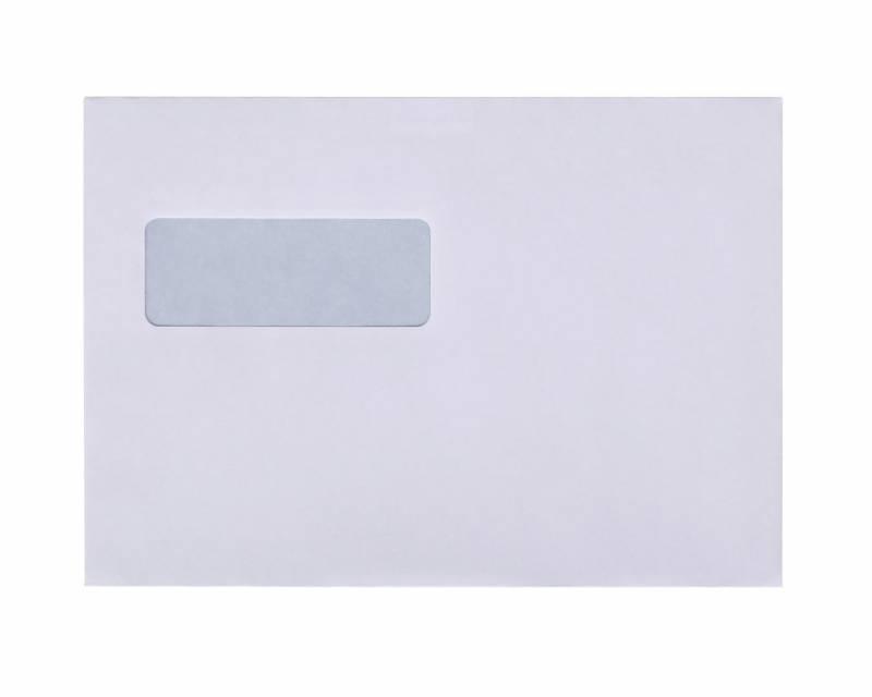 Image of   Kuverter m/rude hvid 155x220mm M5 Mailman P&S 10192 500tk/pak
