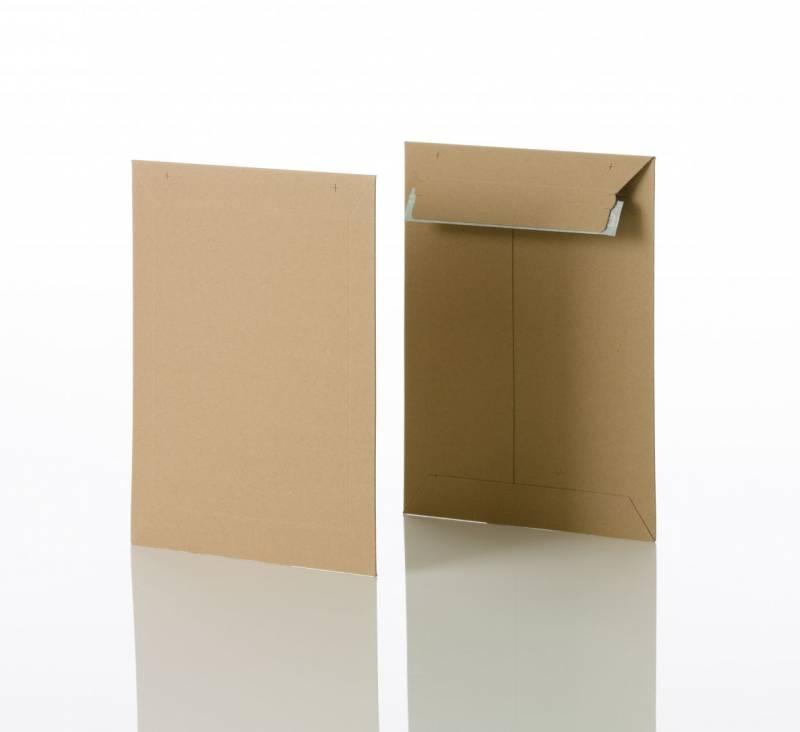Image of   Konvolut kartonpose 3 t/A5+ 240x315mm brun 100stk/pak
