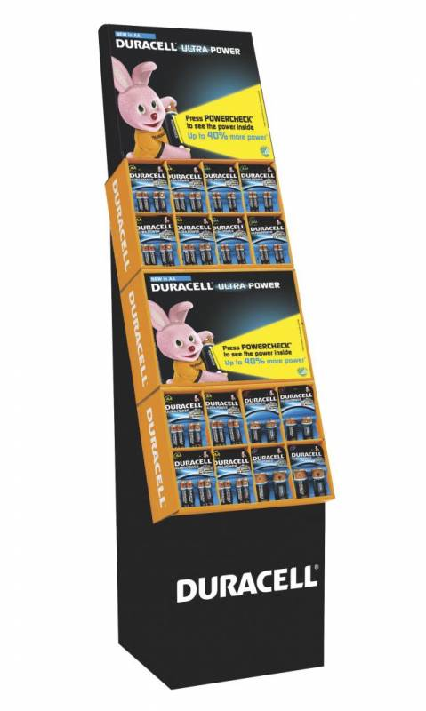 Billede af Duracell Ultra Power display Big 3 - 2 module
