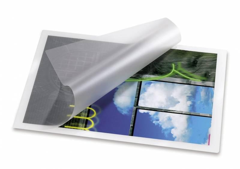 Billede af Lamineringslommer 125 mic. 54x86mm 100stk/pak
