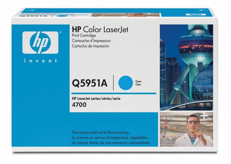 Billede af HP Toner cyan HV Color Laserjet 4700