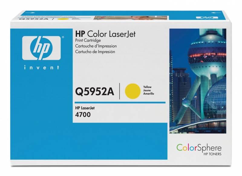 Billede af HP Toner yellow HV Color Laserjet 4700